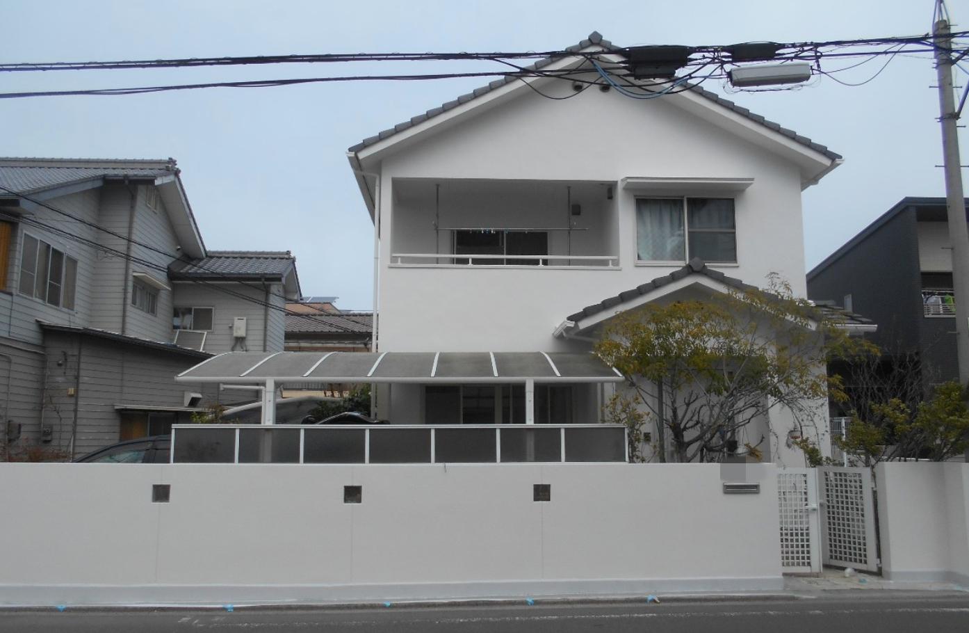 外壁塗装完成写真